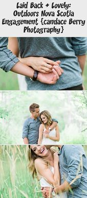 Laid Back + Lovely: Outdoors Nova Scotia Engagement {candace Berry Photography}