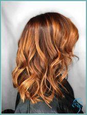 kupferbraun haarfarbe lockige haare – Neue Trend Frisuren | Frisuren … | Damen Frisuren