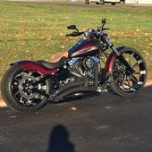 Check out this bad ass Harley Davidson breakout we just finished up for one of o…