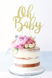Baby Shower Cake Since the months after and before the birth of a baby might be active, the first...