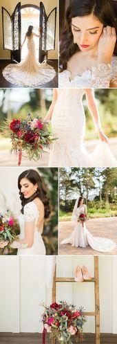 Jewel Toned Bridal Inspiration