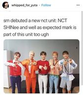 NCT SHINee, (lets throw Mark in there, it is definitely reasonable)!!!!!!!!