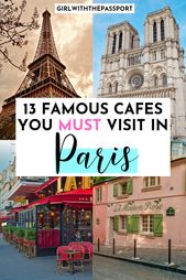 13 Well-known Cafes to Go to in Paris