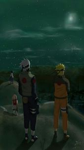Naruto, Kakashi, Sakura & Sasuke time 7❤-#Kaka …