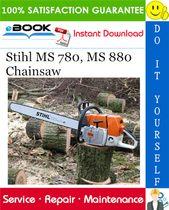 Stihl Ms 780 Ms 880 Chainsaw Service Repair Manual Stihl Chainsaw Repair