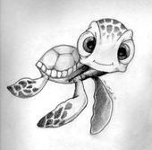Meine Disney Zeichnung – Malvorlagen für Erwachsene – kleuren voor volwassenen #diytattooimages – diy tattoo images