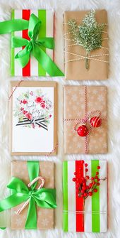 Elegant Holiday Gift Wrap Ideas