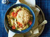 Dumplings de poulet et pain de maïs   – Eating and Drinking
