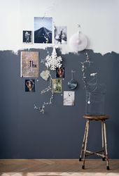 Tendance : peindre ses murs à moitié