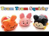 DIY Slime Disney Tsum Tsum Winnie the Pooh Squishy Tutorial