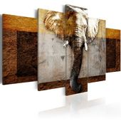 Photo of Bloomsbury Market 5 pcs. Starch of Africa Canvas Art Set Wayfair.de
