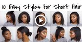 10 Easy Hairstyles for Shoulder Length Hair | Dawn Marie
