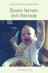 """""""Ich kann es alleine schaffen"""". Tipps, wie Sie Ihren Kindern das Essen beibringen können …   – Baby und Kleinkind"""