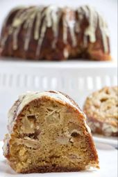 Jewish Apple Cake with Orange Glaze – Desserts