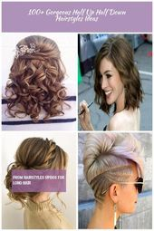 top prom hairstyles 100+ Gorgeous Half Up Half Down Hairstyles Ideas,  #gorgeous #Hairstyles … – #gorgeous #hairstyles #ideas
