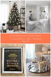 Weiß und Silber Weihnachtsbaum Dekor ist eine gute Ergänzung … – #Dekor #Ein…