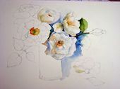 Aquarell Blumen