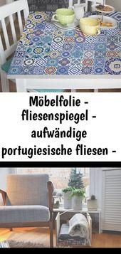 Möbelfolie – fliesenspiegel – aufwändige portugiesische fliesen – möbel klebefolie 7
