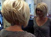Kurzhaar-Ideen für ein rundes Gesicht   – Frisuren