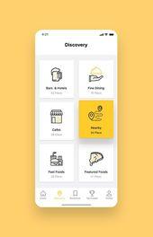 Foodiez Restaurant App UI Kit   – Web und App Design