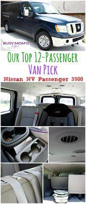 Unsere Top-Van-Auswahl für 12 Passagiere: Nissan NV Passenger 3500   – Busy Mom's Helper