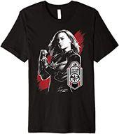 Avengers Endgame Captain Marvel Tag Poster Premium Tee [tshirts1912182809] – $19.99 – Movies | CAPTAIN MARVEL