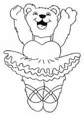 Coloring Pages Angelina Ballerina Printable Coloring Pages