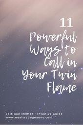 11 mächtige Möglichkeiten, deine Zwillingsflamme anzurufen – Twin flame