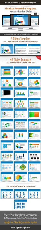 16 best ppt images on Pinterest Graphics, Ideas and Mockup - chemistry powerpoint template