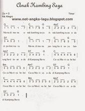 Lagu Anak Anak Not Angka : angka, Kalimba, Ideas, Piano, Notes, Songs,, Musik,, Thumb
