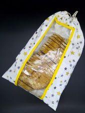 Brottasche mit Fenster nähen – Tutorial • StashLiebe   – Taschen nähen