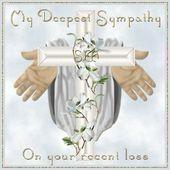 Mein tiefstes Mitgefühl für Ihren jüngsten Verlust – prayers