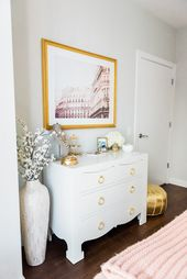 Channel Your Inner French Girl with a Glamorous Bedroom Makeover  – Bedroom & Home