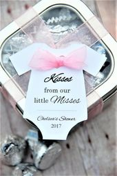 10 tags ~ Kisses from our little misses ~ TAG ONLY ~ Baby Onesie Gift Tags ~ Baby Shower Tags ~ 2 1/ – Products