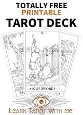The Simple Tarot A Simple Tarot Deck For Beginners Tarot Learning Diy Tarot Cards Tarot Decks