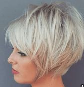 21 Bob Hairstyles Layered Back of the Head – # Hairstyles #backside # Layered – #new