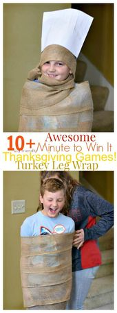 10 Awesome Minute to Win It Thanksgiving Games for Kids to Play – *Games To Play: Kid Friendly Things To Do