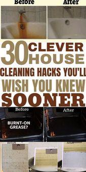 Sie werden überrascht sein, mit diesen Häusern tolle Reinigungsmittel für Ihr Zuhause zu finden