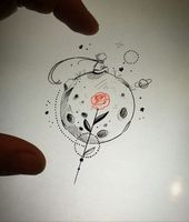 Ideen für niedliche Tattoos mit Sinn. Schalten Sie Ihre Fantasie ein und zeichnen Sie
