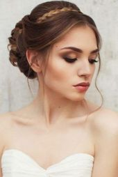 30 Dreamy Boho Wedding Makeup Looks - Wedding Hairstyle - # Boho #Dreamy #Wedding