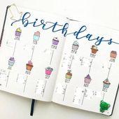 20 Ideen für das Bullet-Journal-Layout, mit denen Sie produktiver werden und die Organisation erhalten