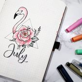 Discover over 40 bullet journal monthly cover idea…