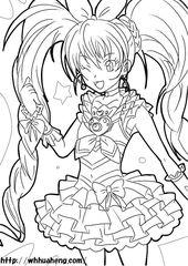 無料の印刷用ぬりえページ 50歳以上 プリキュア 塗り絵 無料 Cute Coloring Pages Sailor Saturn Coloring Pages