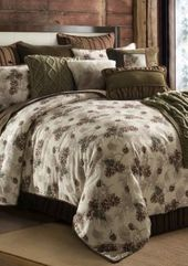 Hiend Accents  Forest Pine Comforter Set - Multi - Twin