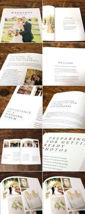 Hochzeiten Magazin Welcome Guide Vorlage