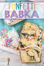 Funfetti Babka – Brotrezepte – #BABKA #Brot #Funfetti #Rezepte