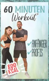60 minutes workout for home – burn 800 calories – With WARM UP Who …