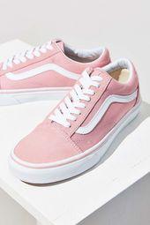 Vans Pink Old Skool Sneaker. Urban Outfitters. Pin…