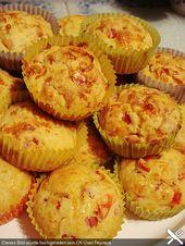 Schinken – Käse – Muffins, ein tolles Rezept aus der Kategorie Kuchen. Bewertun…