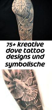 75+ kreative dove tattoo designs und symbolische bedeutung – frieden und harmonie (2018 134